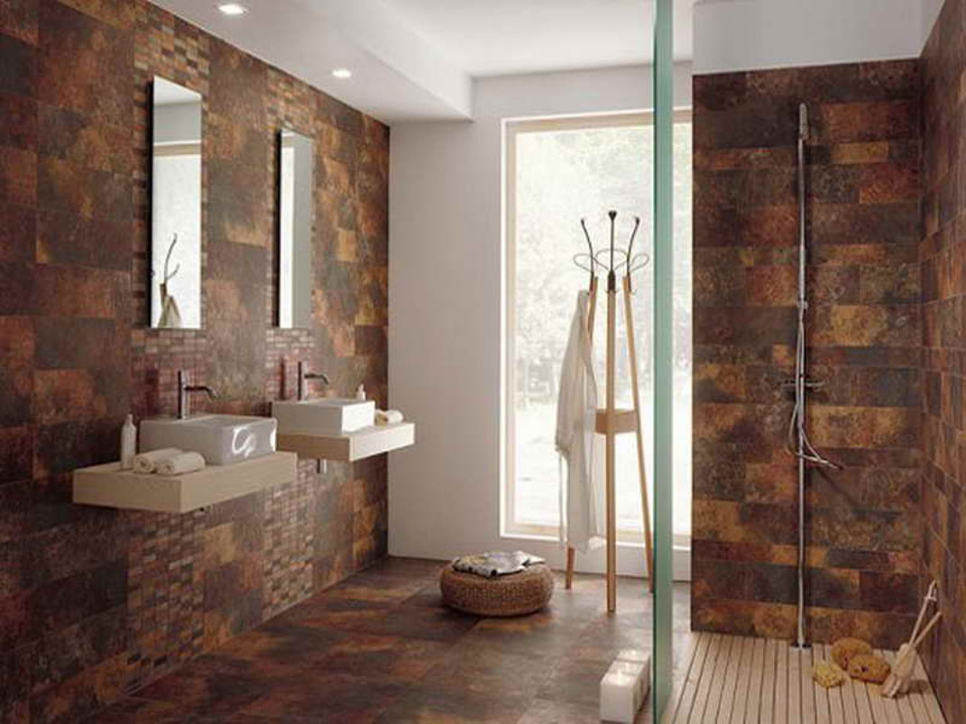 Wall tiles for bathrooms